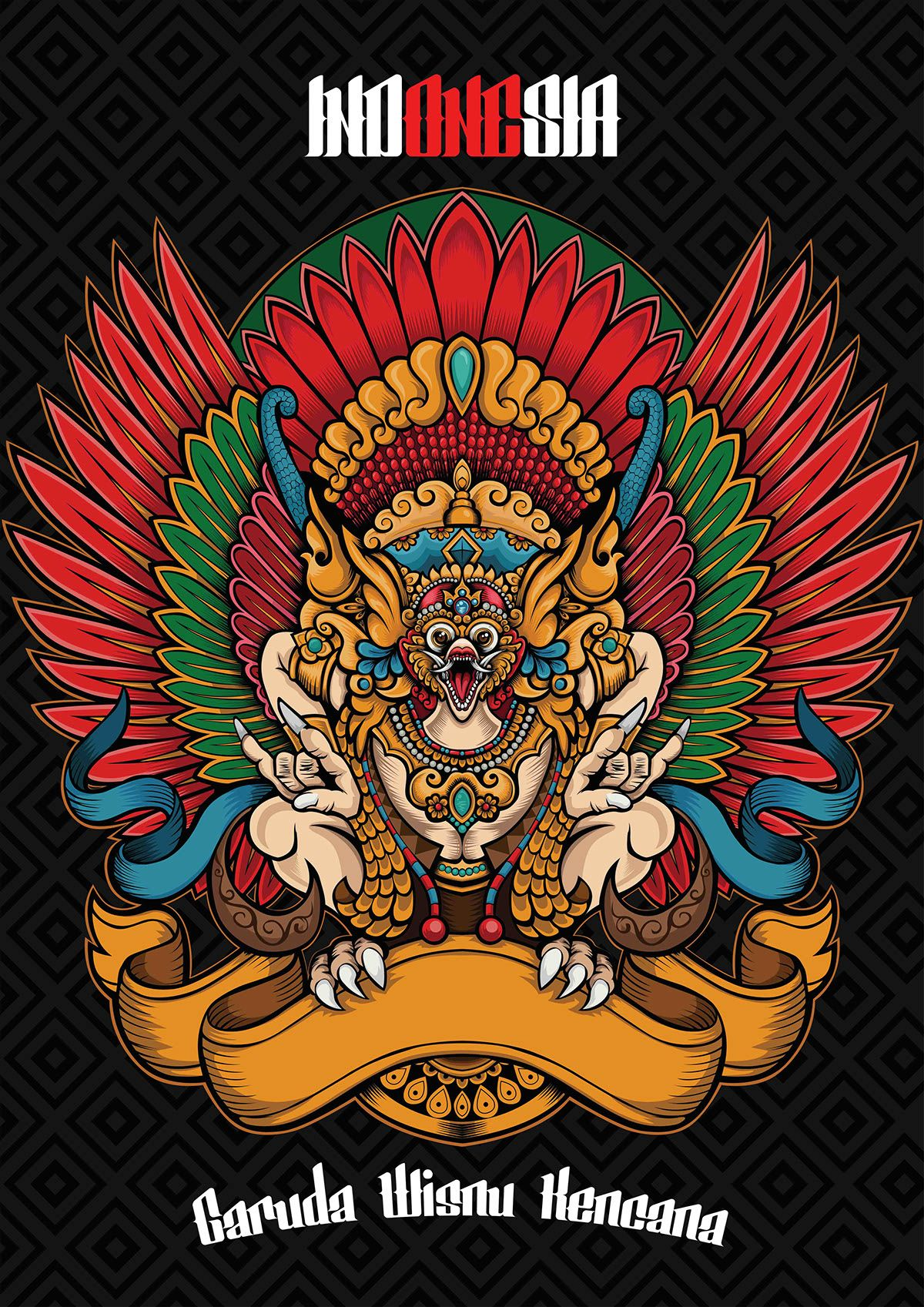 Garuda on Behance