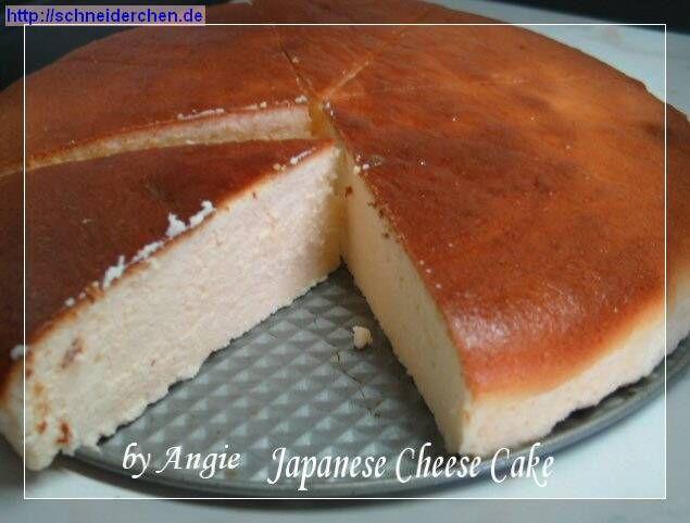 Angies Japanese Cheesecake
