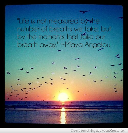 Life Is Not Measured By The Breaths Quote Mesmerizing Life Is Not Measuredthe Number Of Breaths We Take Butthe