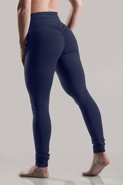 36e0325ca Top-Selling-Women s Butt Lifting and Scrunching Hip Push Up High Waist Fitness  Gym Leggings-Navy Blue