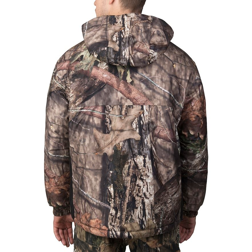 men s walls mossy oak camo hunt hooded insulated anorak on walls hunting clothing insulated id=60098