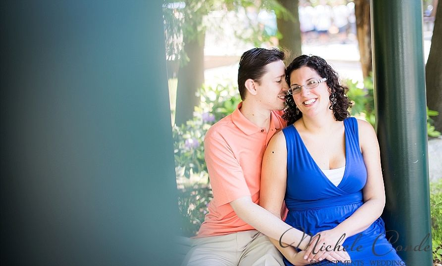 nh ma massachusetts new hampshire wedding photographer canobie lake fun engagement session amusement park