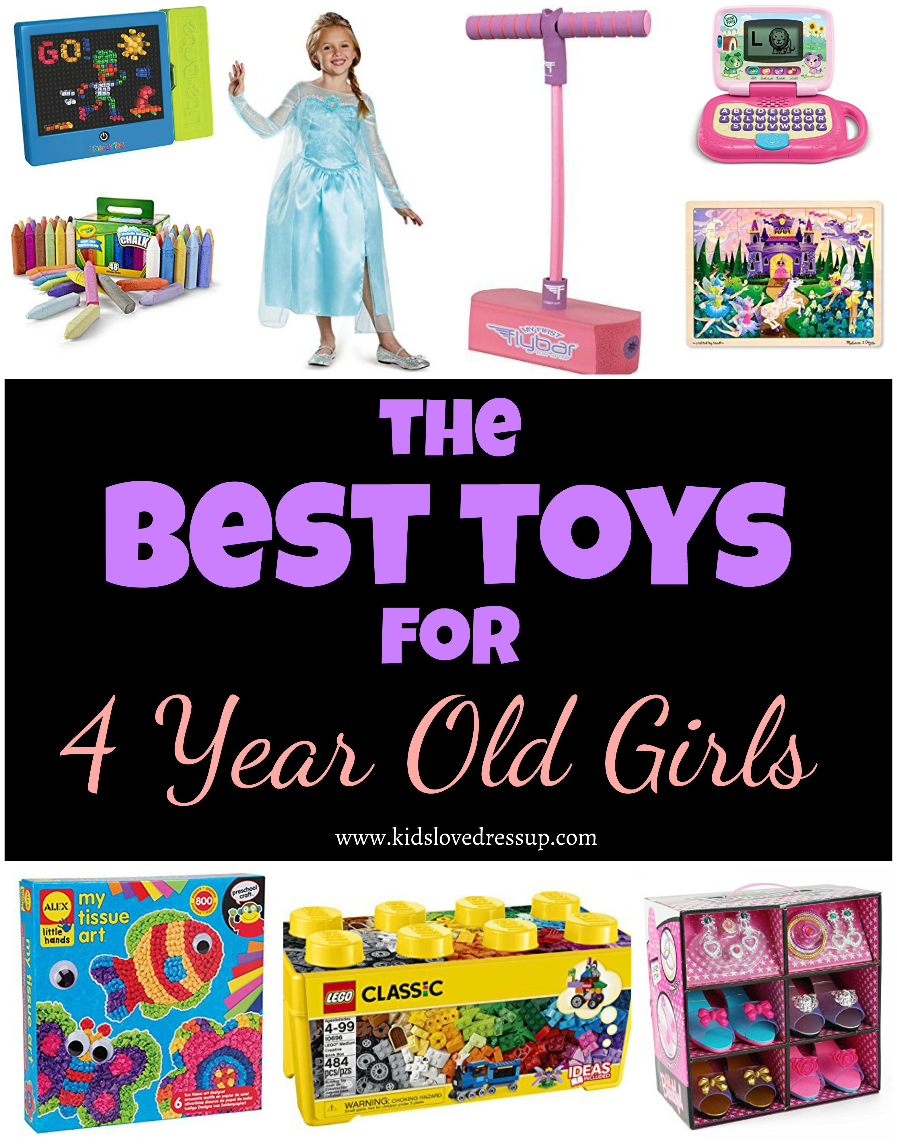 Best toys for 4 year old girls want her to be busy and