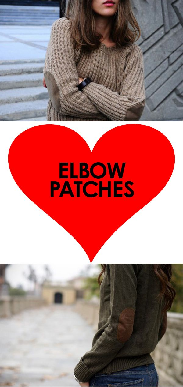 Dear god, where can I find a beautiful, affordable sweater with elbow patches!?