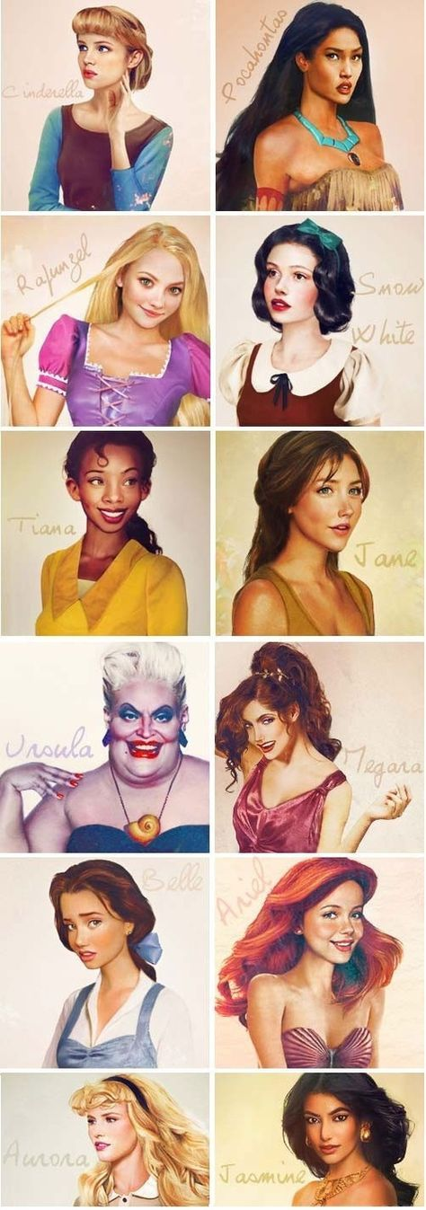 What they'd look like if they were real. Gorgeous. :)