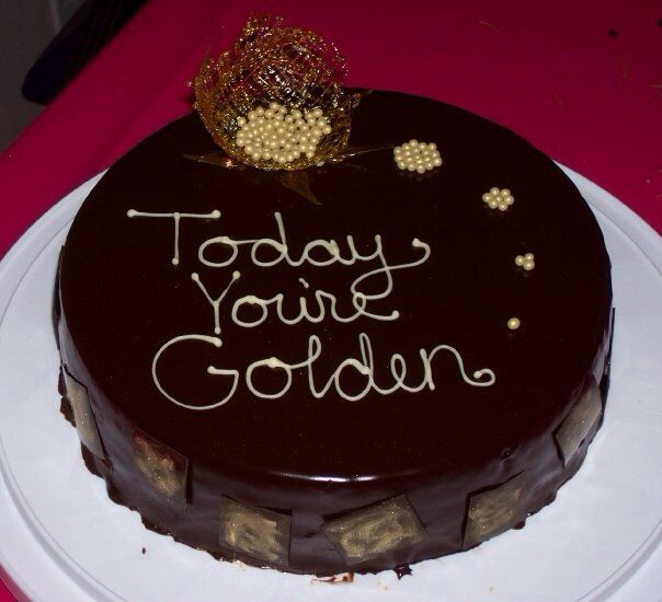 Best 25 Golden Birthday Cakes Ideas On Pinterest Golden