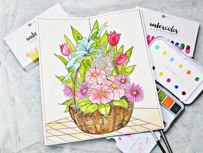 Try Something New Behind The Garden Gate Ideas Watercolor