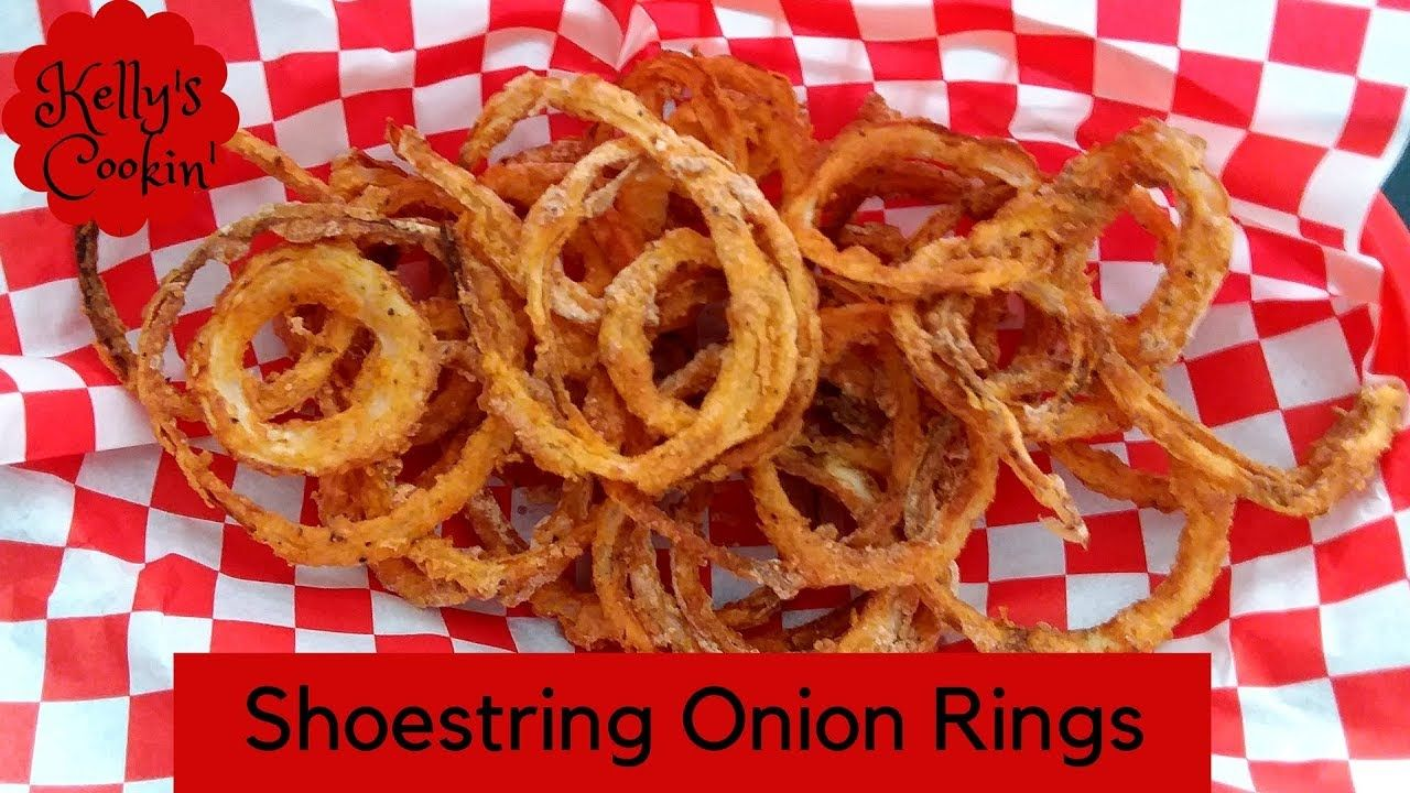 Air Fryer Shoestring Onion Rings/Onion Straws Cook's