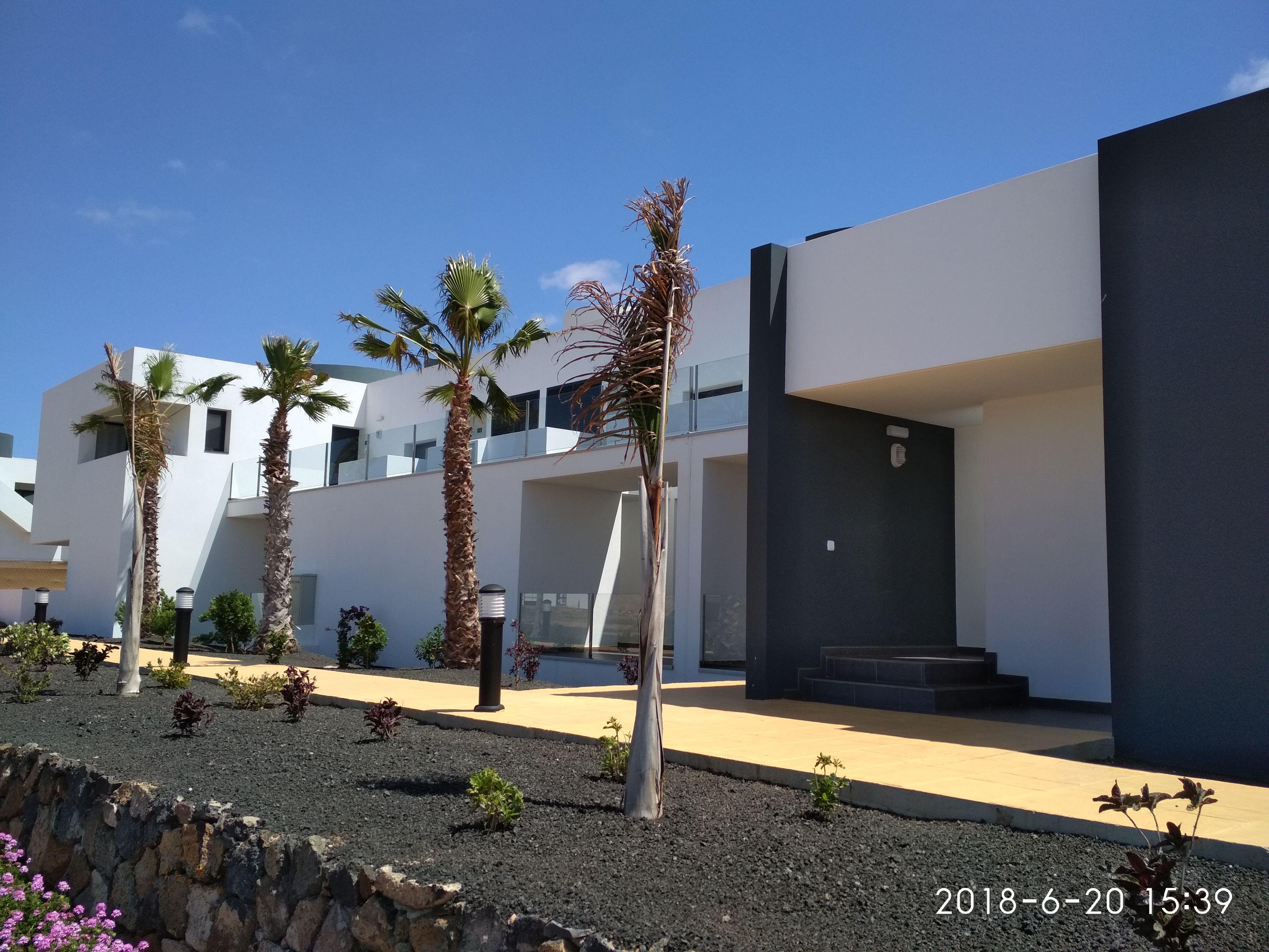 Urbanización Casilla de Costa en La Oliva, Fuerteventura