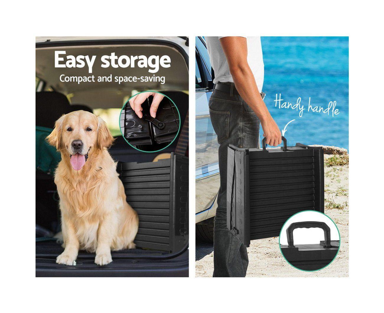 i.Pet Pet Dog Ramp Travel Car Truck SUV Backseat Portable