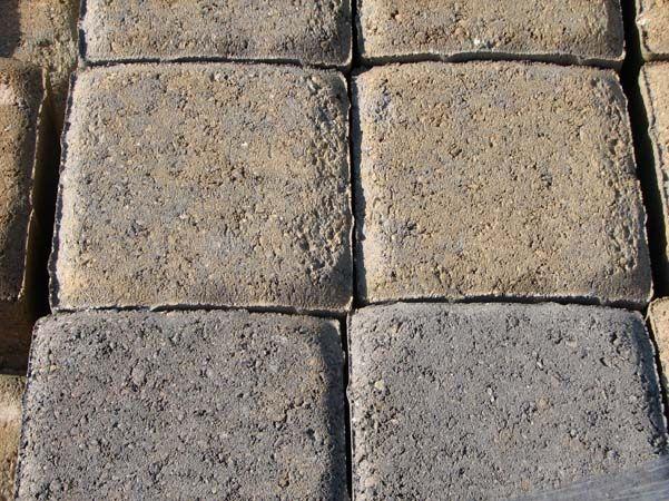 concrete driveway and patio pavers