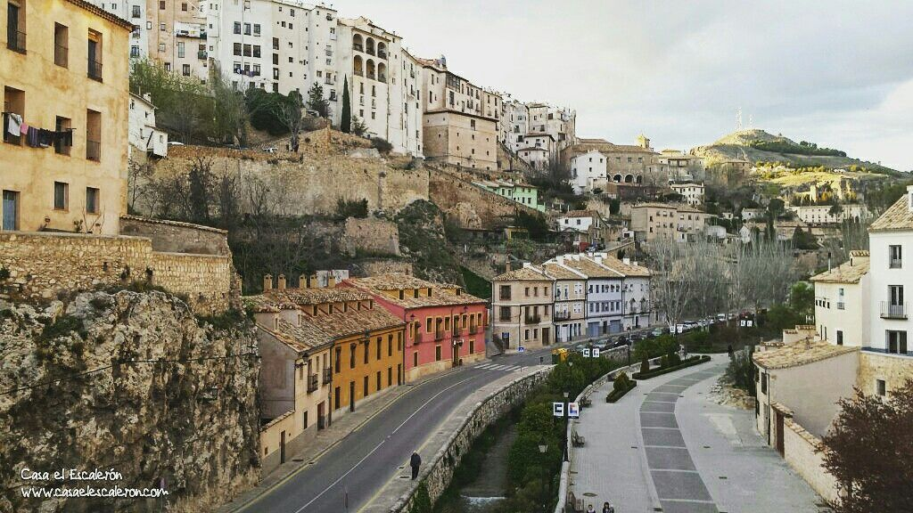 Casas Colgadas Hanging Houses Cuenca Spain Lugares De