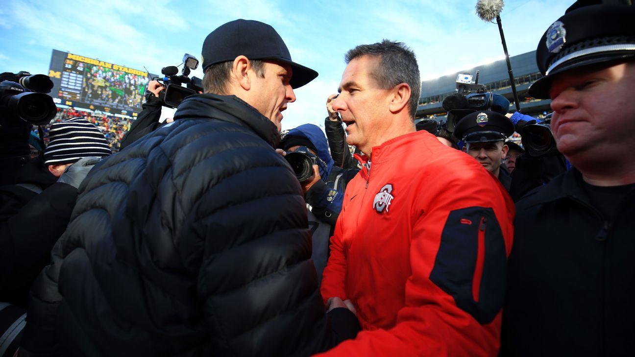 Cfp Top 4 Unchanged But Osu Michigan Looms Ohio State Football Michigan Ohio Ohio State Buckeyes