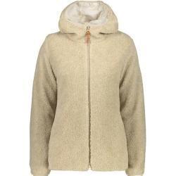 Cmp Damen Sweatshirt Woman Jacket Fix Hood, Größe 38 In Vanilla, Größe 38 In Vanilla F.lli Campagnol