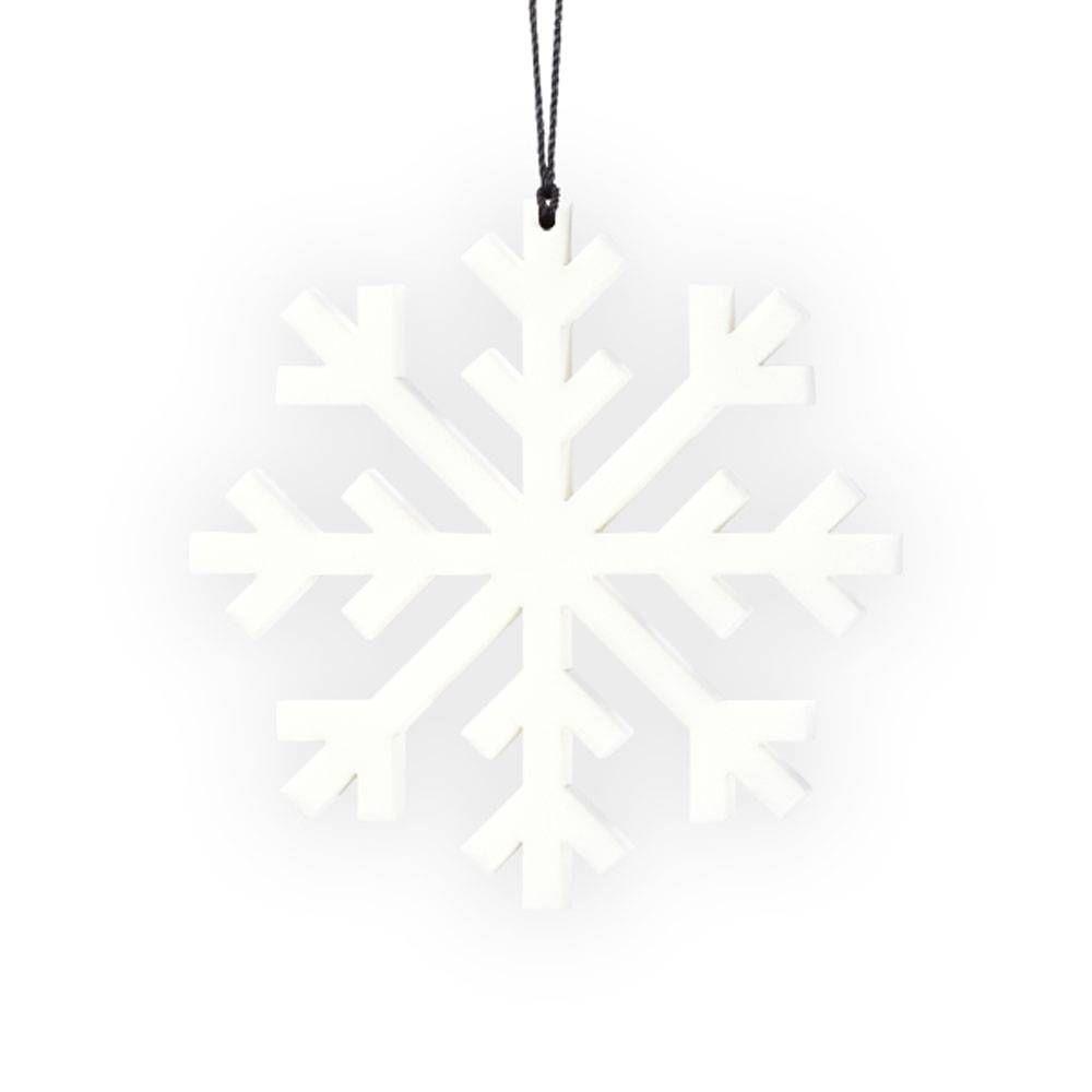 Felius hanger Snowflake 2-pack wit #hangersnowflake