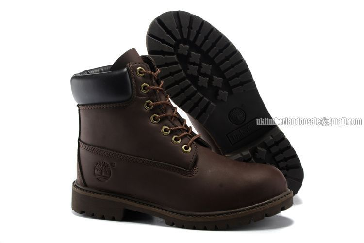 timberland 6 premium leather bottes brown