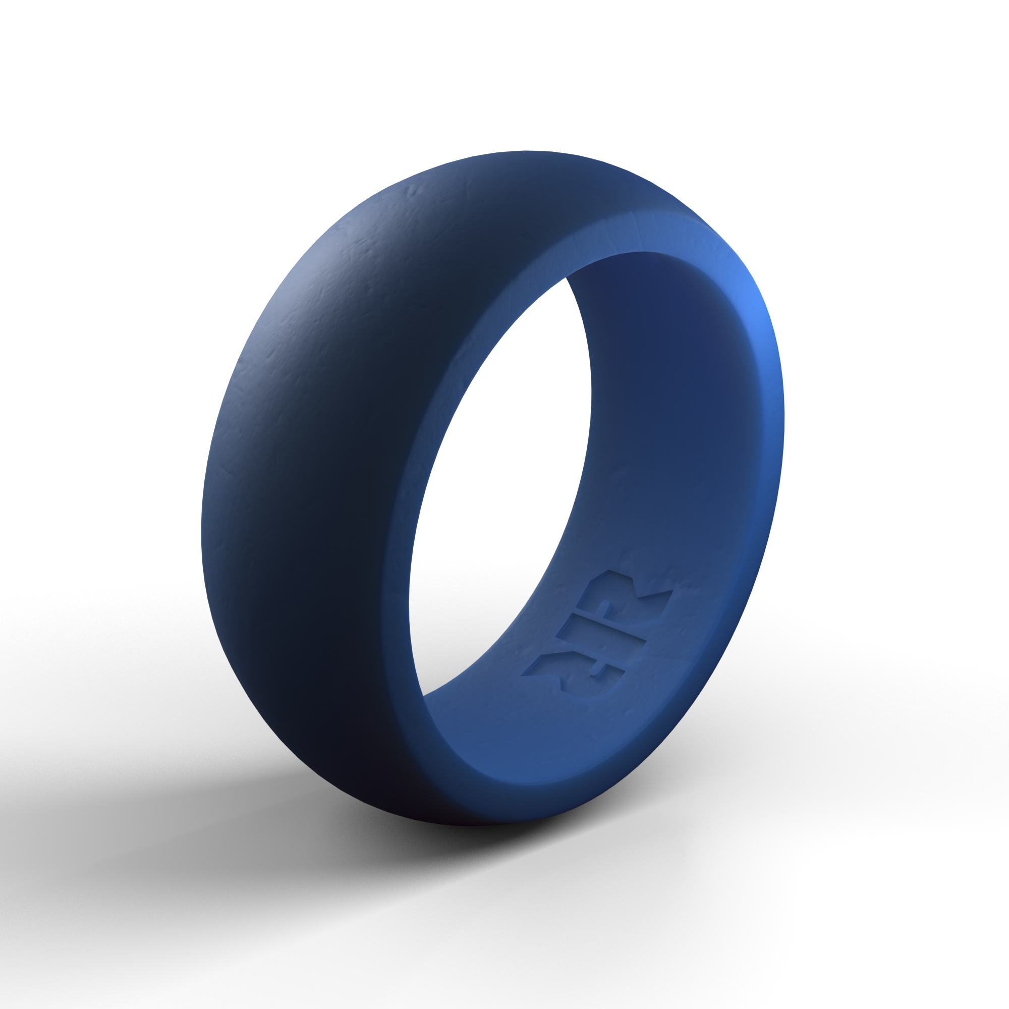 Men S Blue Silicone Wedding Ring Wedding Rings Rings Blue