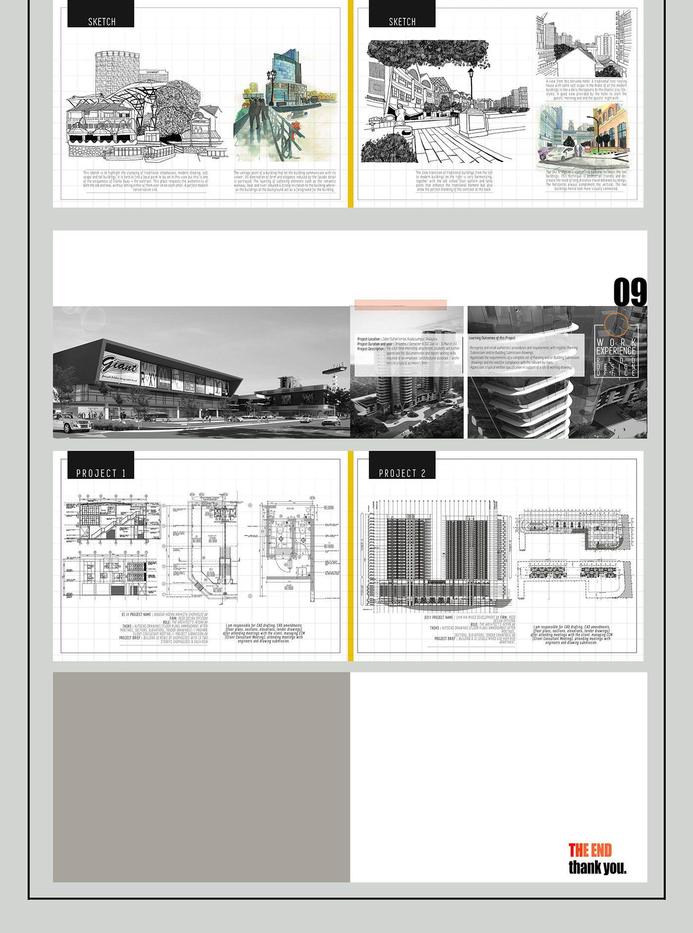 this is my architecture undergraduate portfolio