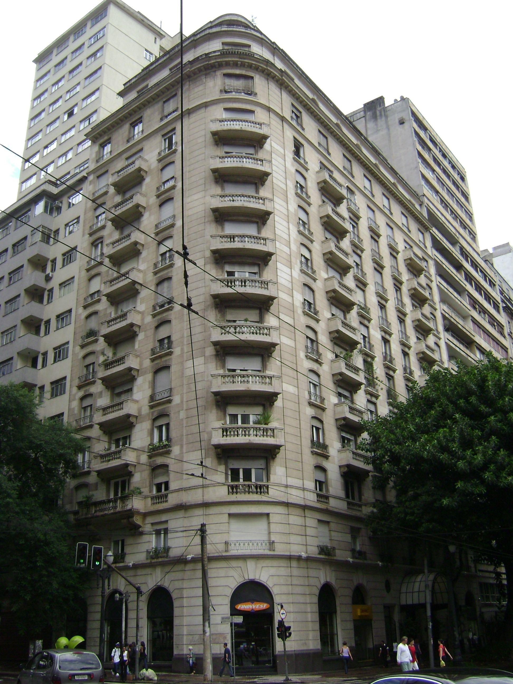 Edifício São Luís, centro de SP Jacques Pilon, 1944