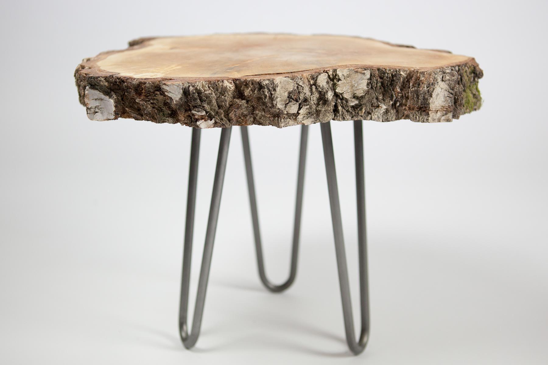 Affordable Hairpin Leg Tisch Mit Baumscheibe With Baumscheibe Tisch