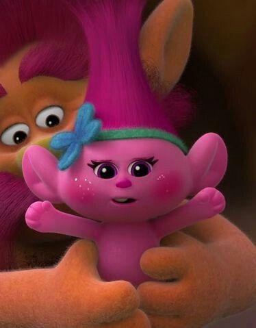 Trolls baby poppy. Is probably the cutest
