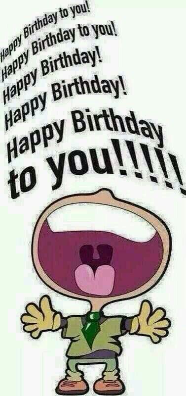Happy Birthday To Youuuuuuuuuuu Feest Pinterest Happy