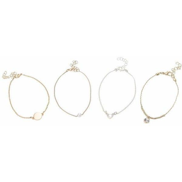 835ef964ee069 Ariana Grande For Lipsy Charm Bracelet Set ($14) ❤ liked on ...