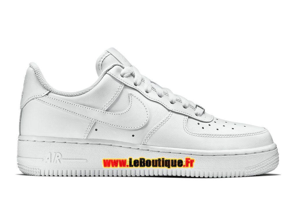 huge discount 6e7f9 4b609 Nike Wmns Air Force 1 07 Low - Chaussures Nike Sportswear Pas Cher Pour  FemmeEnfant Blanc 315115-112
