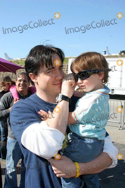 Brendan Fraser Photo Brendan Fraser And Son Holden At The P S