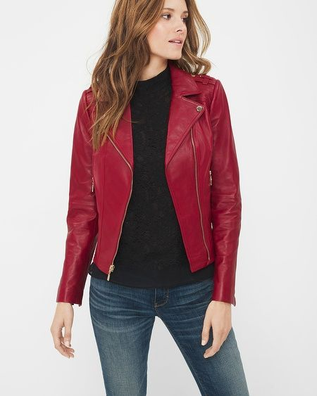 A well-tailored leather moto jacket is hard to come by. Case in point: our designers set out to create the perfect version—think soft, red leather, …