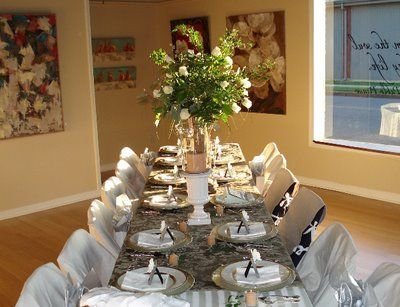 Dinner Party Decorating Ideas | Look At This Table Setting! I Thought It  Was From Part 43