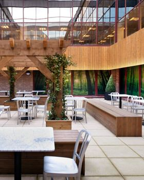 incredible outdoor spaces your office needs in 2019 breakout space rh pinterest com  outside office space ireland