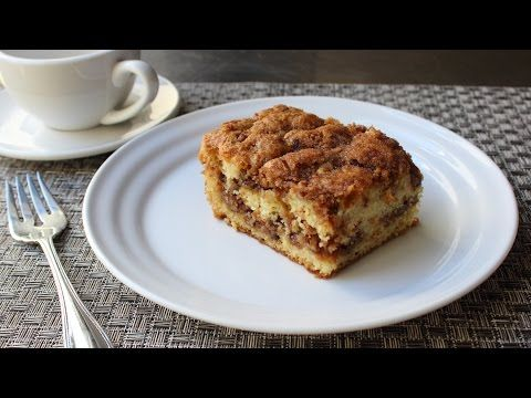 Pecan Sour Cream Coffee Cake Recipe How To Make A Crumb Cake Sour Cream Coffee Cake Coffee Cake Food Wishes