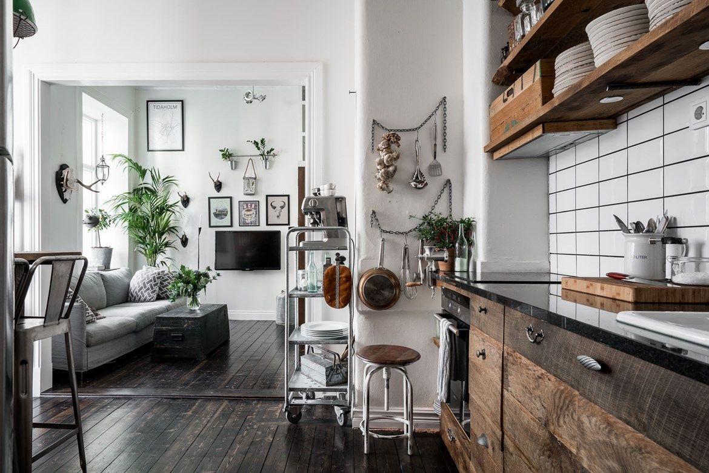 Leuke Keuken Ideeen : Super leuk klein appartement vol leuke ideeën keuken pinterest
