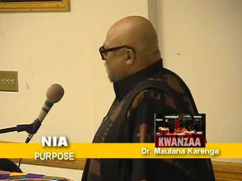 NIA #Kwanzaa Celebration
