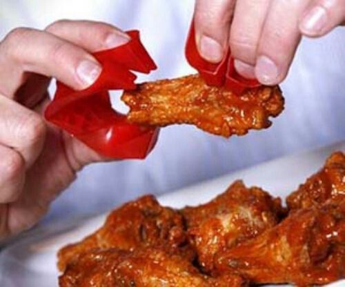 Chicken Wing Finger Food Holder Things Stuff I Want Pinterest
