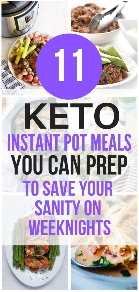 11 Best Keto Instant Pot Recipes for Easy Weeknight Dinners #instantpotrecipesforbeginners