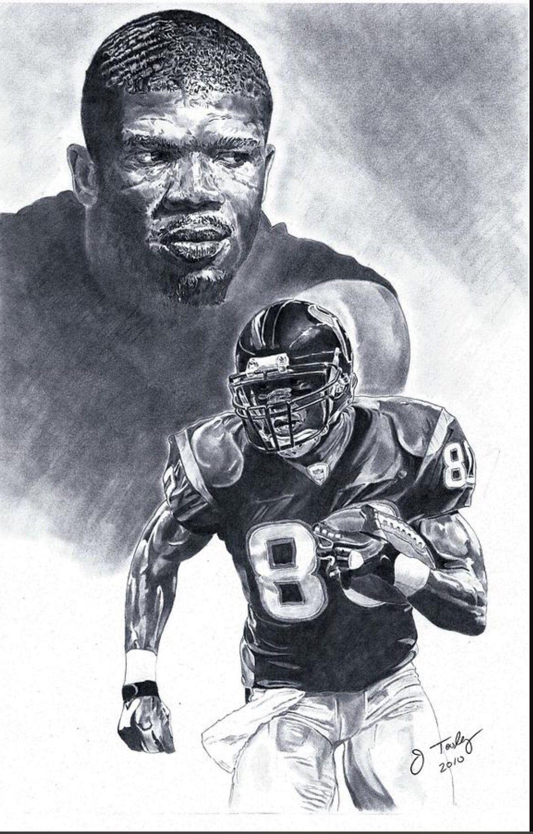 Andre Johnson Texans Art