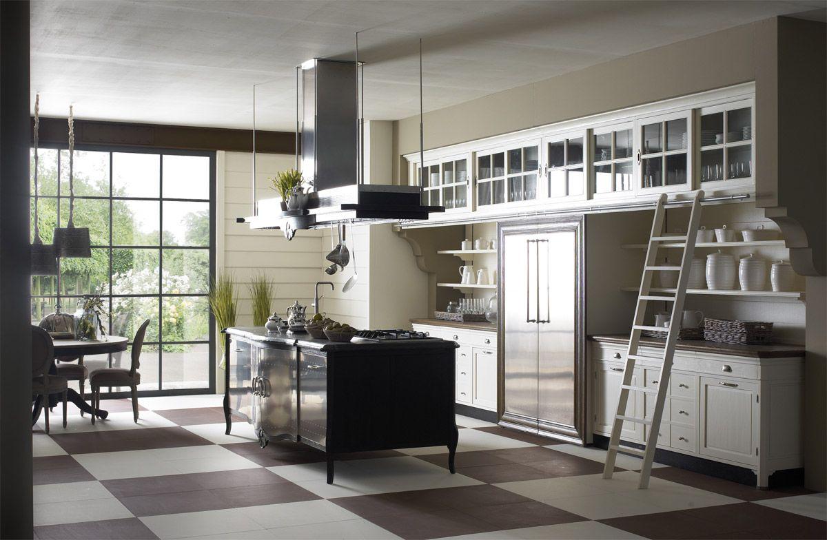 Marchi Group - Opera Cucina su misura - Cucina in legno massello di ...