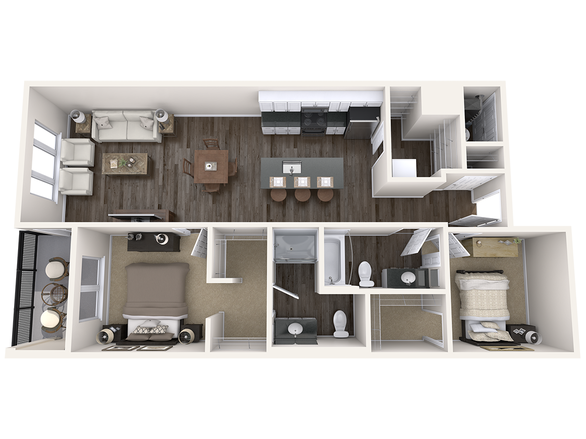 Floor Plans Of Arena Place Apartments In Grand Rapids Mi Floor Plans Downtown Apartment Apartment Layout