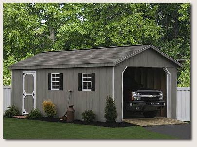 Large one car garage ideas single car garage door single for How wide is a single car garage