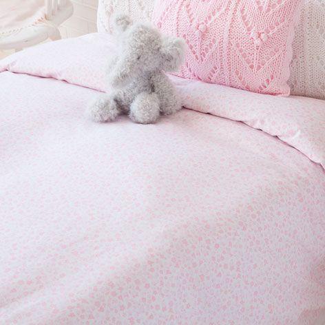 Assortiment housse de couette et taie d 39 oreiller fleurs linge de lit lit zara home france - Zara home housse de couette ...