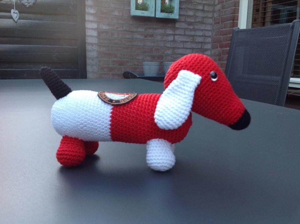 Feyenoord Hondje Feyenoord Haken Pinterest