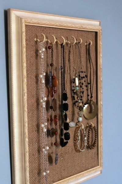 foam core cup hooks frame jewelry holders and organizers