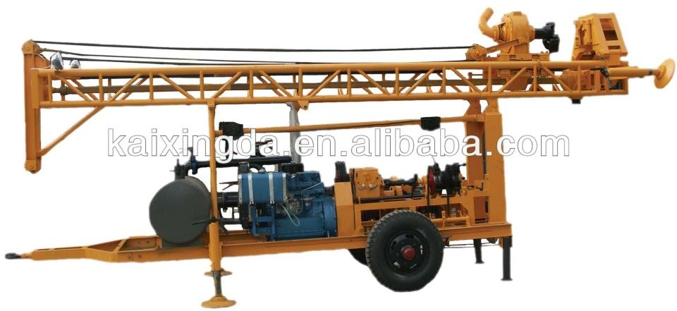 Kxd Ii Rotary Trailer Water Well Drilling Rigs For Sale Water Well Drilling Rigs Water Well Drilling Well Drilling