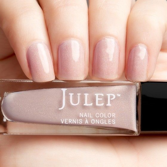 Carrie Ann | Nails | Julep nail polish, Blush nails, Sheer nail polish
