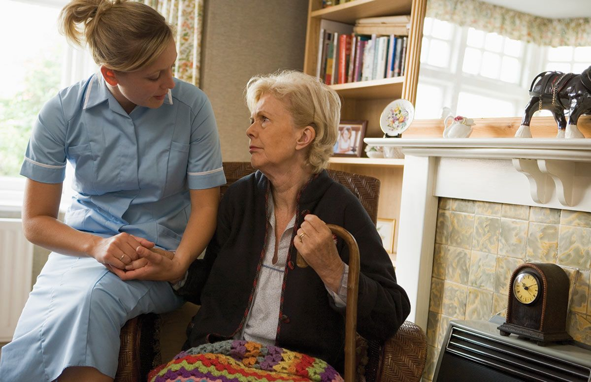 Parent or family member have a home health aid? Starting