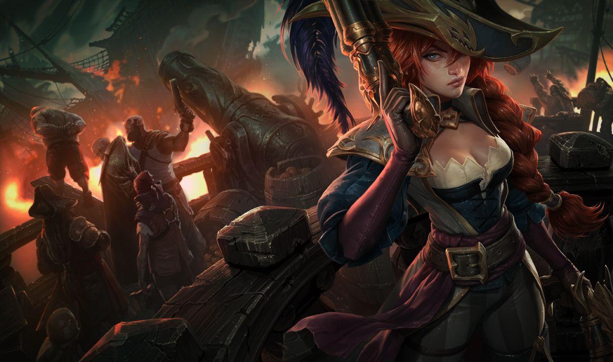 Surrender at PBE Update: Captain Fortune Splash, Black Market Brawlers, and  More!