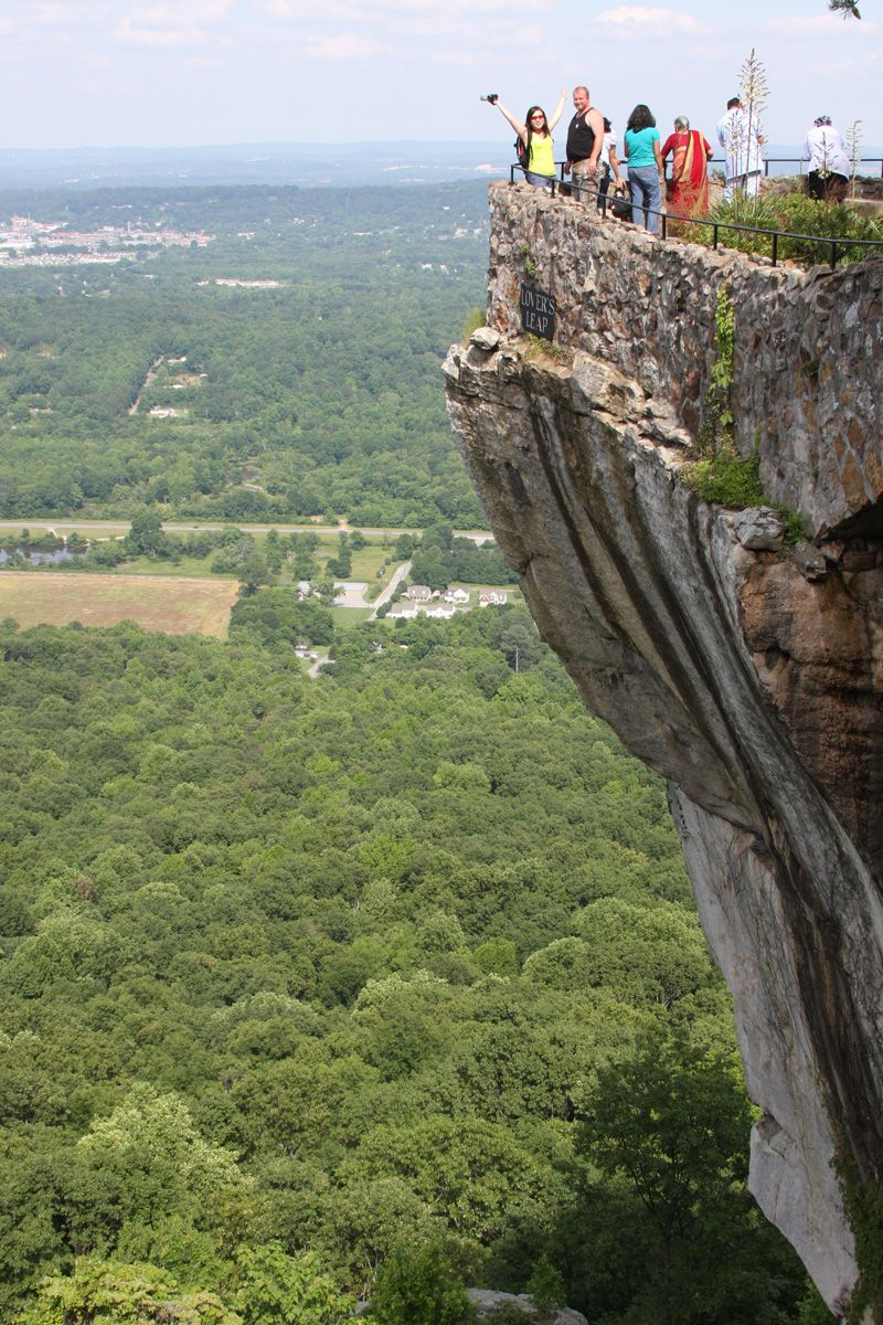 tennessee rock mountain chattanooga overlook lookout near mt town ledge usa travel places georgia ga rocks tn ain states cities