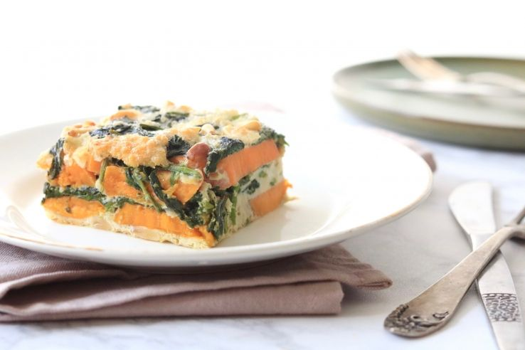 Zoeteaardappelfrittata 5orless Healthy Dinners Om